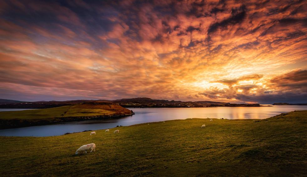 #29 - Loch Harport Sky