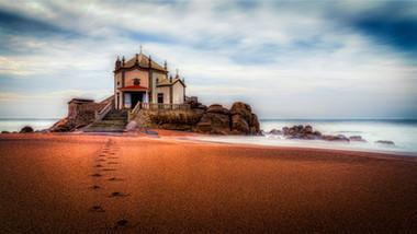 Chapel of Senhor da Pedra near Porto