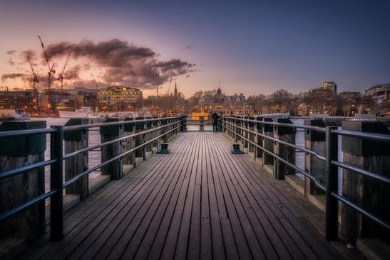 Gabriel's Pier, London