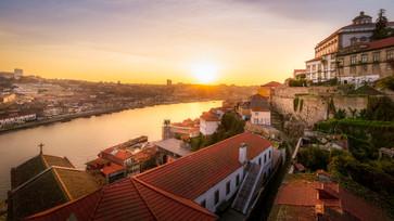 Porto over the Douro river