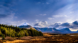 Cuillin Mountains Panorama 2