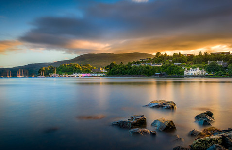 Portree from Scorrybreac