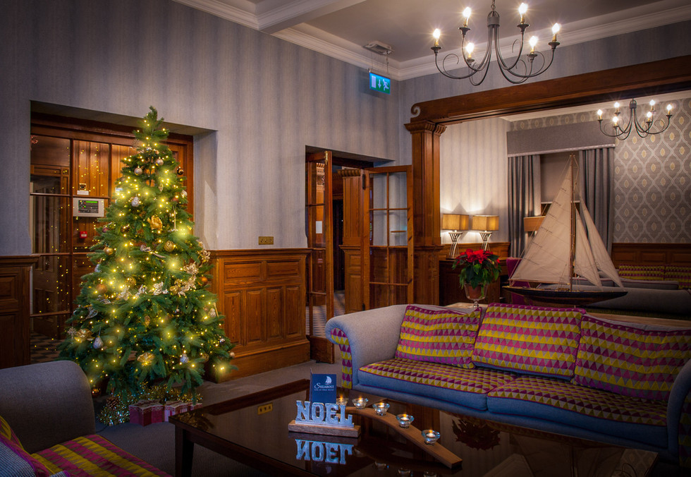 Christmas in the lounge