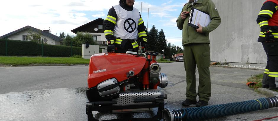 Branddienstleistungsprüfung abgelegt