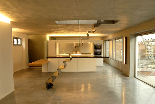 Loft Bruxelles Haesevoets Architecte Residentiel
