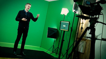 Green screen - Video production