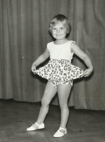 Janetts första danssteg.