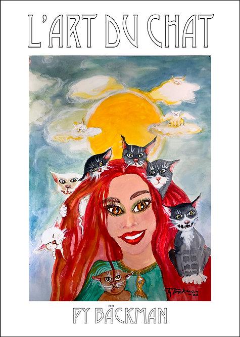 Solkatter - Poster 50 x 70 cm