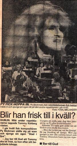 1988 i Dublin på Mello