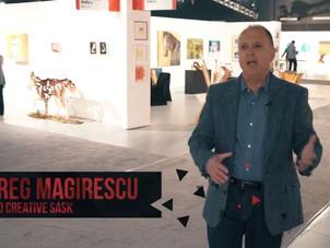 SaskTel Max Local On Demand Visits Art Now 2017
