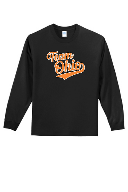 YOUTH TEAM OHIO LONG SLEEVE T SHIRT