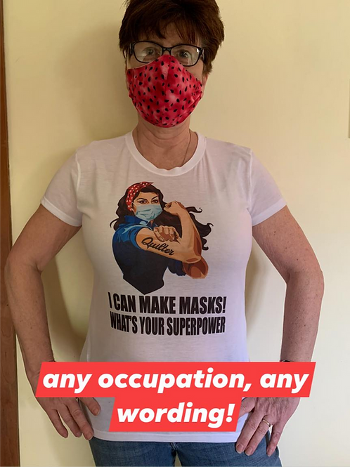 ROSIE THE RIVETOR-YOUR PERSONALIZATION AVAILABLE