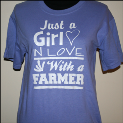 A girl in love with a farmer