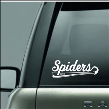 OHIO SPIDERS CAR DECAL