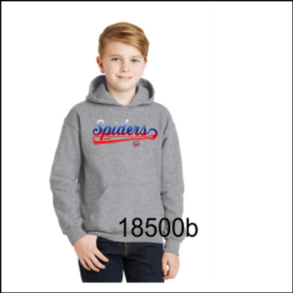 YOUTH HEAVY BLEND HOODIED SWEATSHIRT