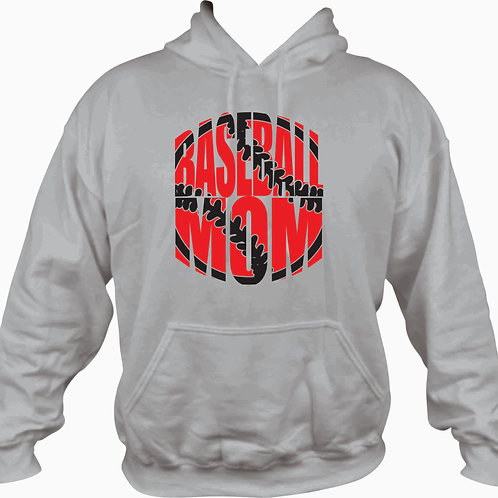 Baseball Mom hooded sweatshirt