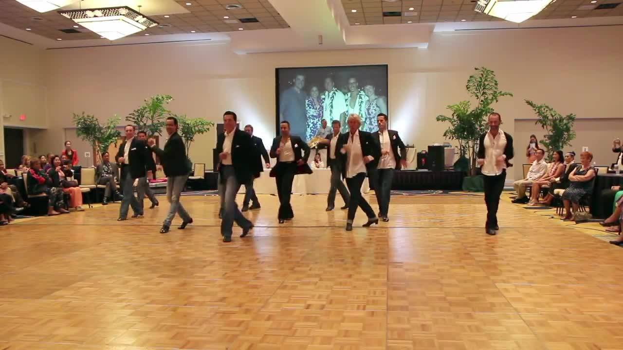 Aloha Ball 2014 Men's Cha Cha by Charles Ryder Video & Photography