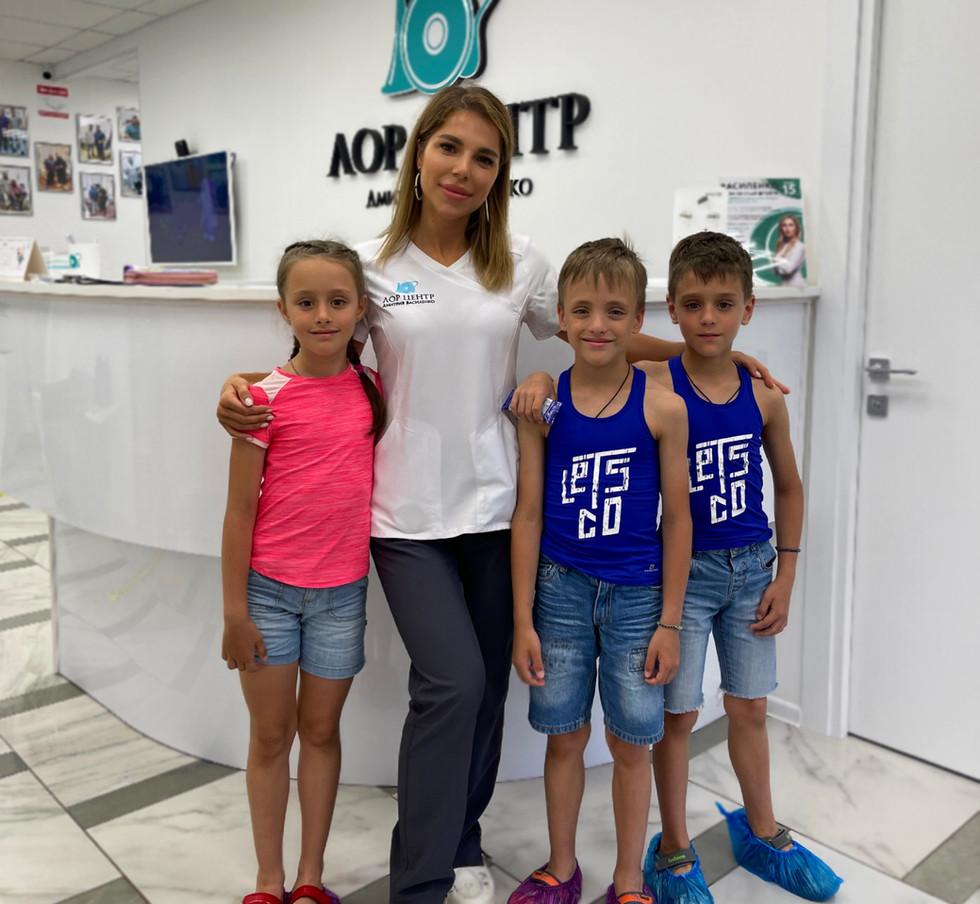 Врач-оториноларинголог Диана Гаджибековна Гаджибалаева
