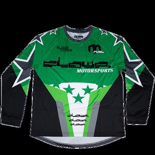 Clowe Motorsports Jersey (Green)