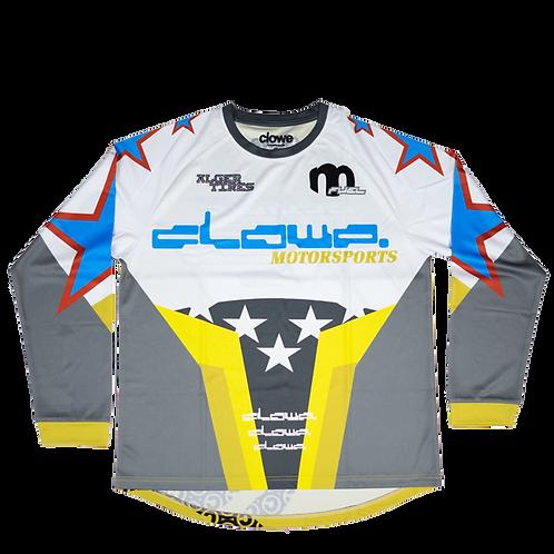 Clowe Motorsports Jersey (Yellow)