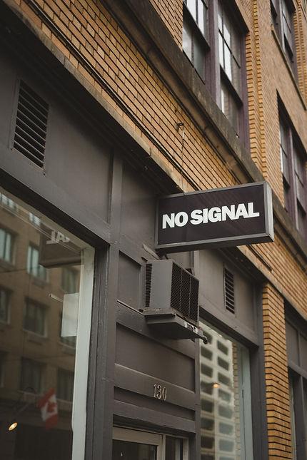No Signal Atlanta Store Front