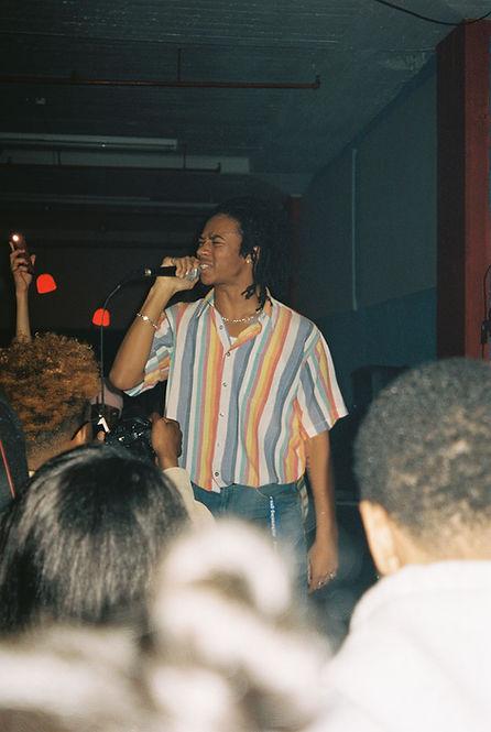 DavidtheTragic performing.