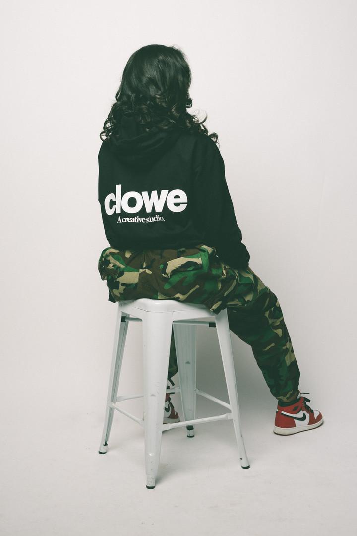 Clowe Logo Hoodie