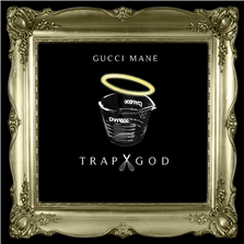 Gucci Mane's Trap God cover created by Khalfani Dennis