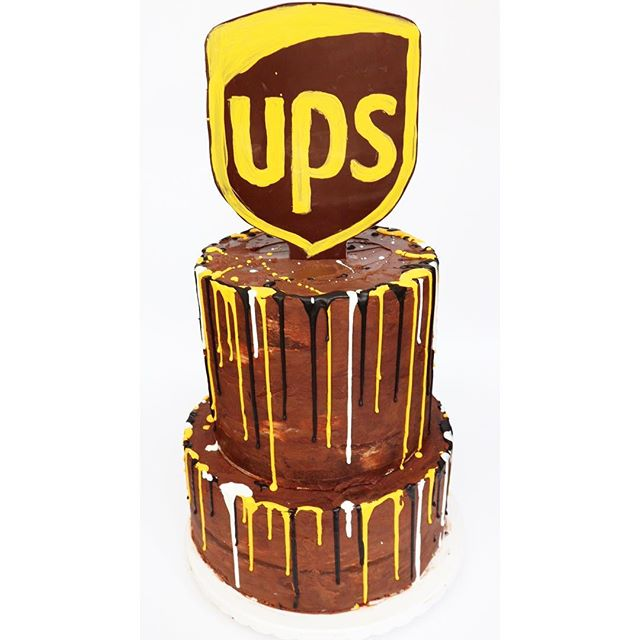 Loved making this cake for UPS's 'Founde