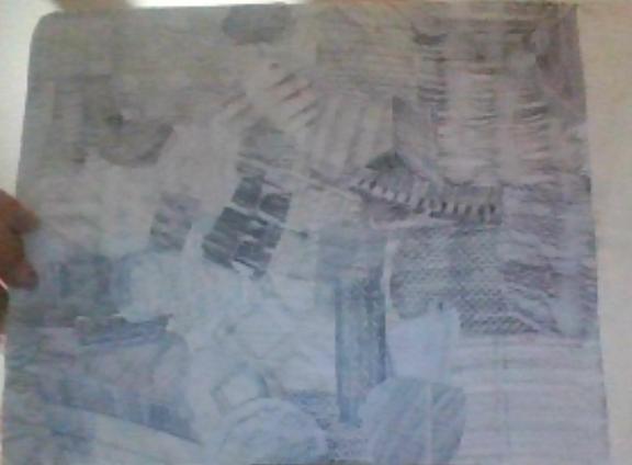 Iris - Texture Collage