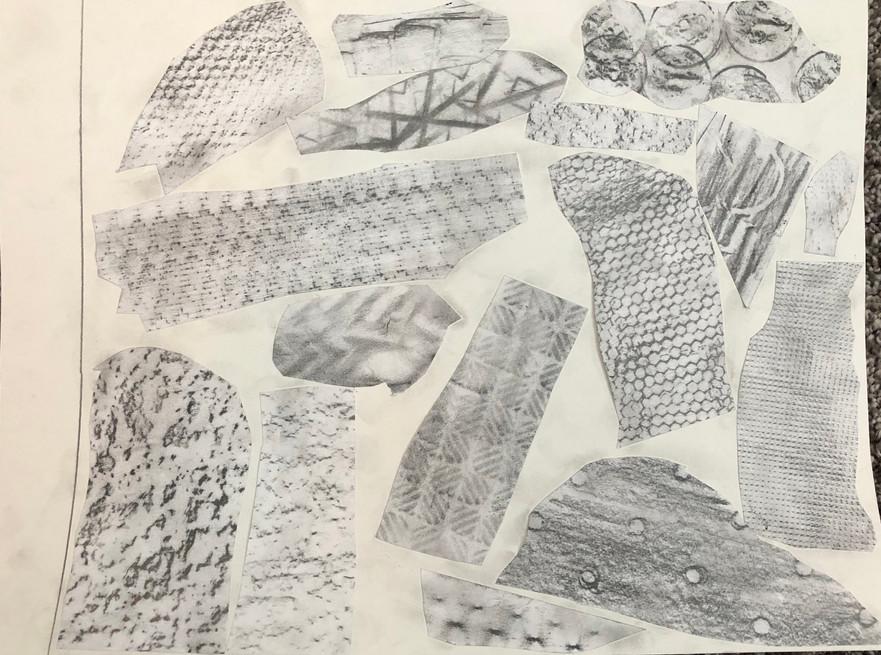 Matthew - Texture Collage