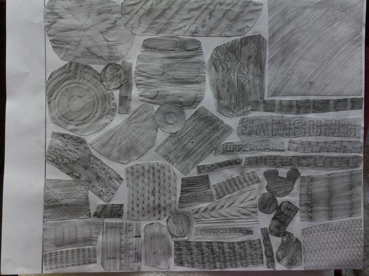 Monserrat - Texture Collage