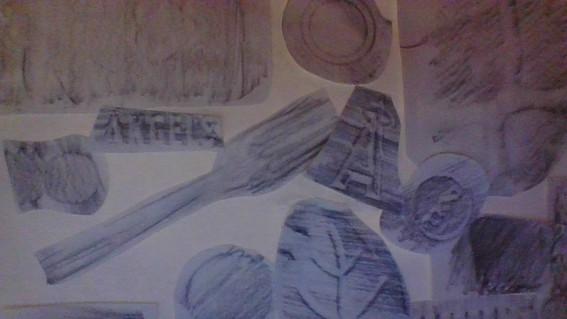 Aiden - Texture Collage