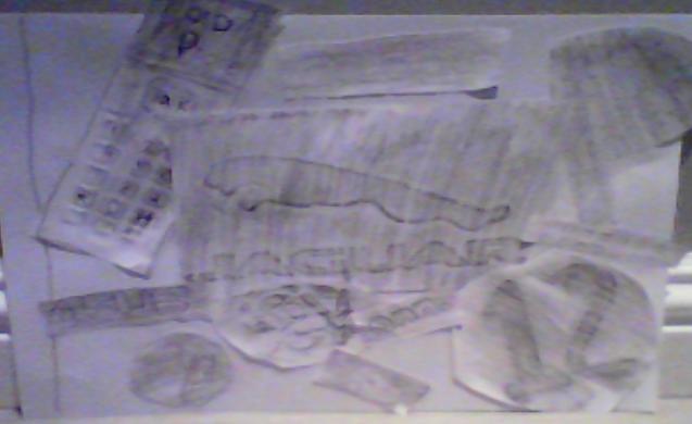 Damar - Texture Collage