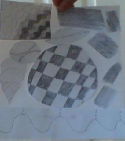 Caleb - Texture Collage