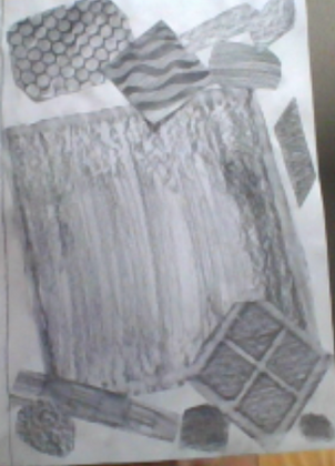 Micaela - Texture Collage