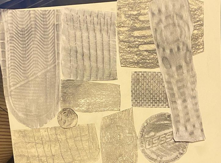 Jaden - Texture Collage