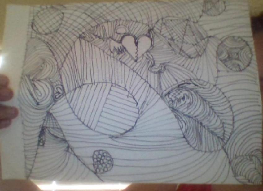 Rosemary - Zentangle