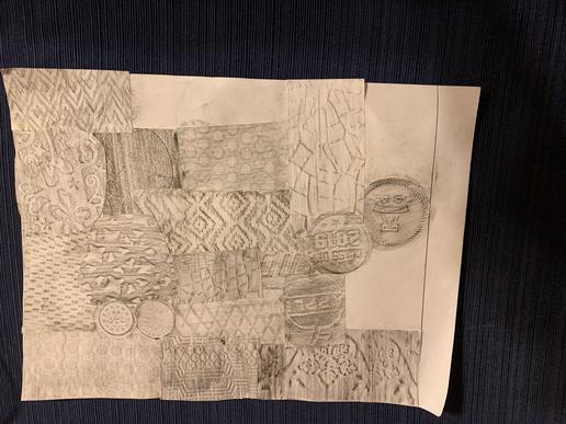 Gulraj - Texture Collage