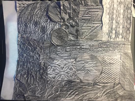 Brennedette - Texture Collage
