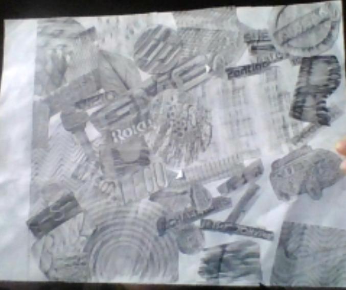 Brea - Texture Collage