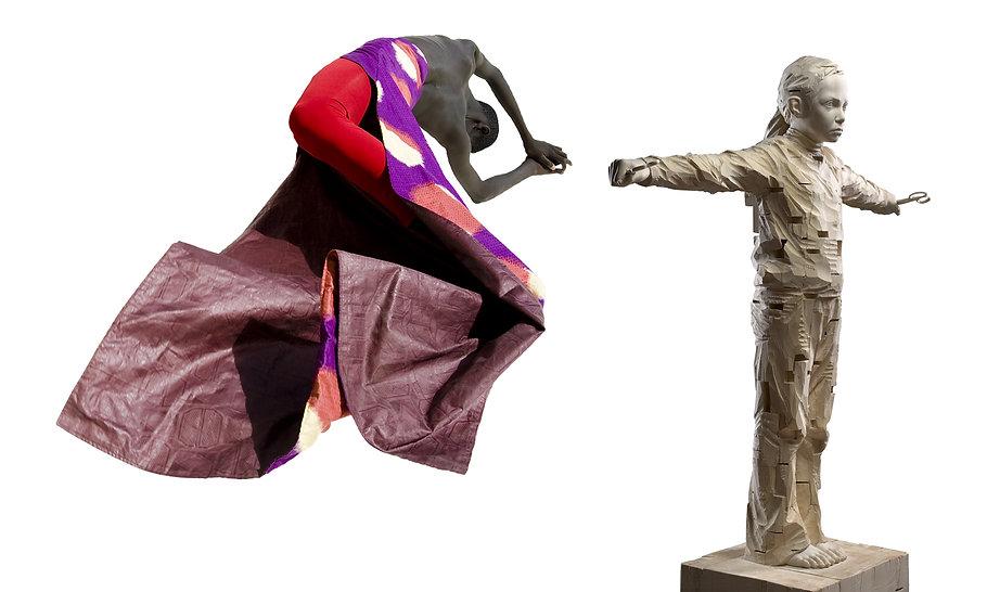 Galerie Gefängnis Le Carceri, Kaltern. Ausstellung SUPERHEROES. Kinder-Träume? Raquel Muñoz López - Gerhard Demetz