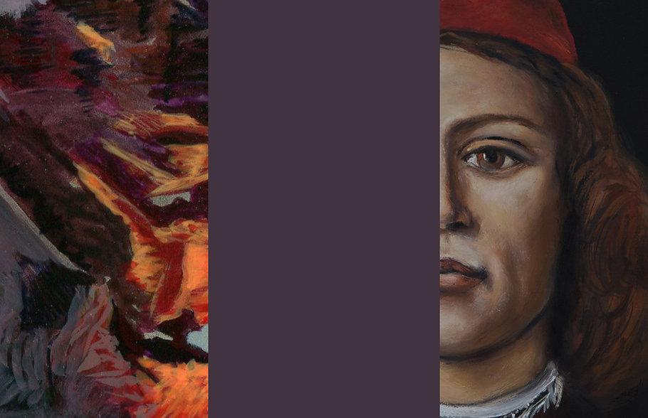 Galerie Gefängnis Le Carceri, Kaltern. Ausstellung ANSICHTEN, Michael Munding, Ivo Mahlknecht