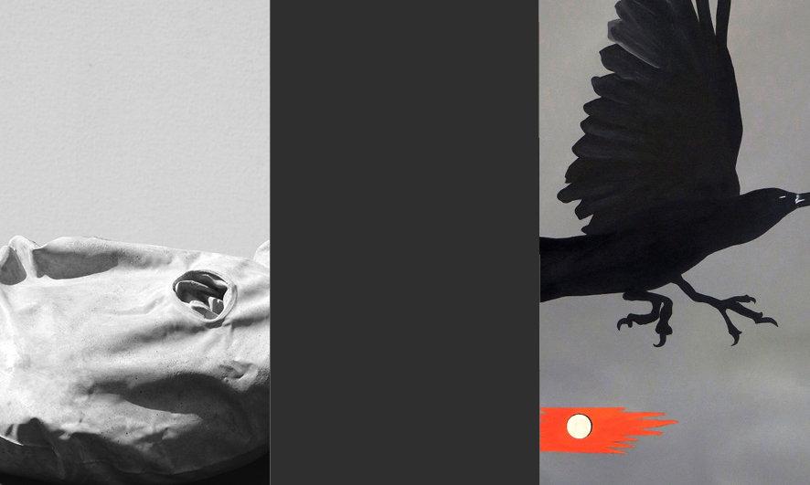 Galleria Gefängnis Le Carceri, Caldaro. Mostra DALLA GRAVITÀ DELLA LEGGEREZZA dietro le sbarre nel vuoto estivo. Franziska Hufnagel - Andreas Zingerle