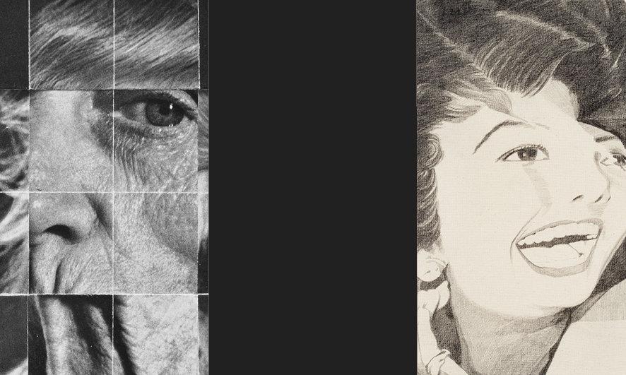 Galerie Gefängnis Le Carceri, Kaltern. Ausstellung FRAGMENTS & FORMATIONS. Zeichnung, Collage, Objekte. Bernhard Hosa - Letizia Werth