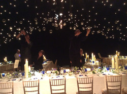 Marquee in a private garden, Kendal
