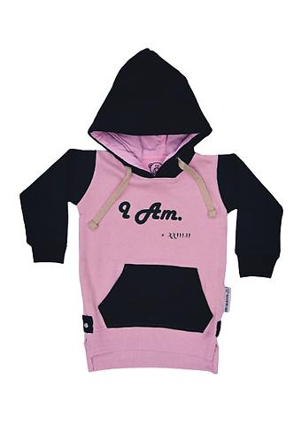 Kids Hoodie - Pink Blush