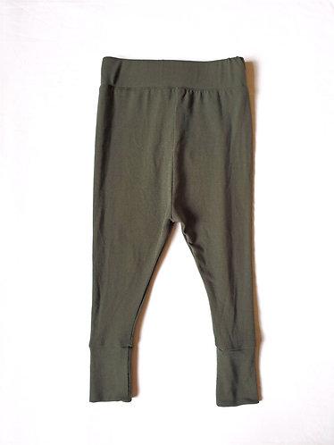 Battle Green Hi-Waist Leggings