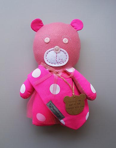 Ballerina Bear & Bib Gift Set