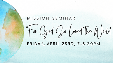 A Mission Seminar